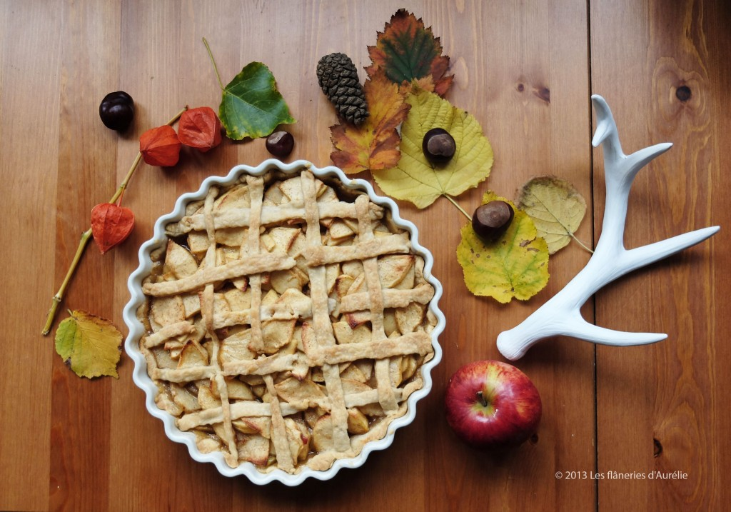 """You're the apple to my pie"" (apple pie recipe)"
