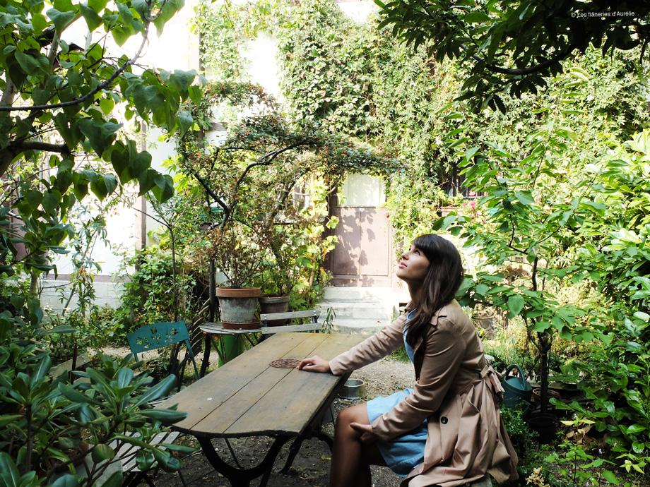 Paris bucolique #4 : la Cité Fleurie, mon jardin secret